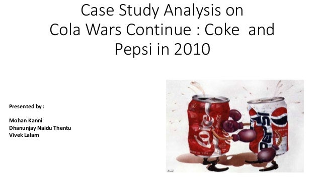 coke pepsi economic case study Two fizzy drinks giants' branding come under scrutiny in the our logo design case study series on canny creative graphic and web design blog.