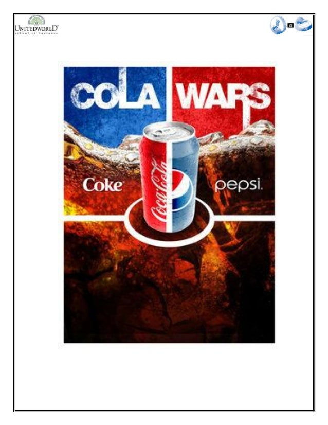 pepsi and coca cola war
