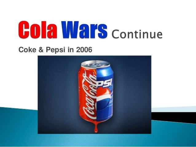 Pepsi vs. Coke -- the new cola wars are here
