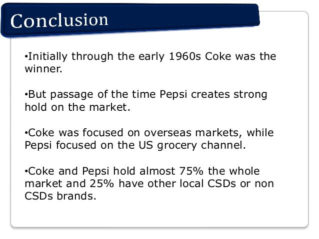 the cola wars case study