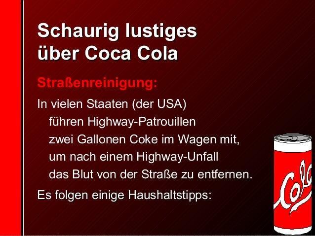 Cola Wasser