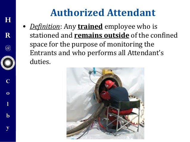 Confined Space Training by Colby College