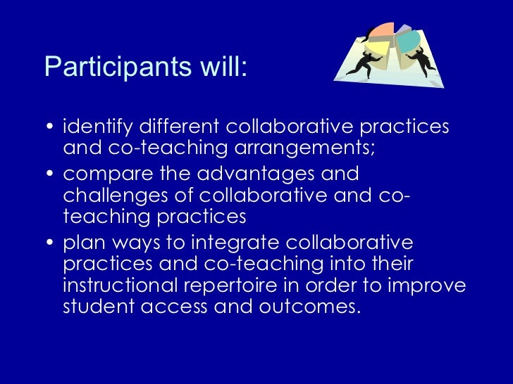 Collaborative Teaching : Collaboration co teaching for ells