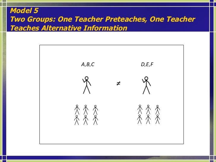 MODELS (Vaugh, Schumm, & Arguelles, 1997; Honigsfeld & Dove, 2008). <ul><li>MODEL  1: One Group of Students  One Lead Teac...