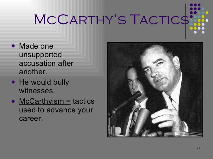 an analysis of the strategies of senator joseph mccarthy in 1954 My analysis papers democrats won the 1957 special election to fill the vacancy caused by the death of senator joseph mccarthy 1954 and 1956.
