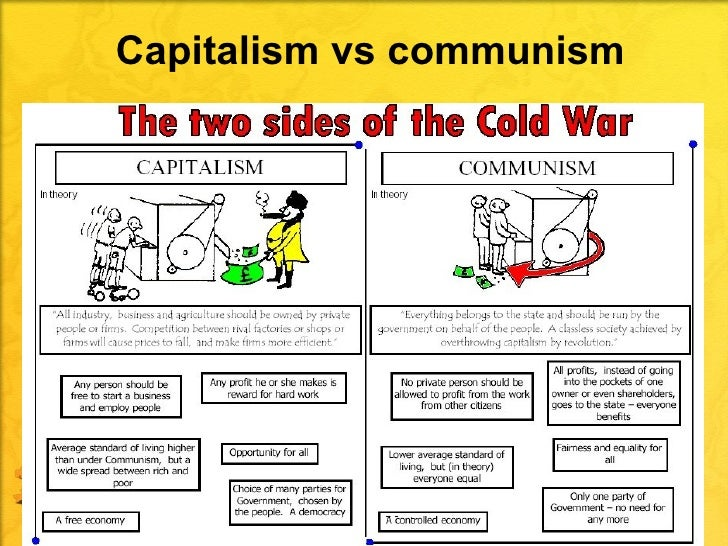 vietnam war the product of capitalism and communism Free essay on communism, capitalism, the cold war, the vietnam war and the korean war available totally free at echeatcom, the largest free essay community.