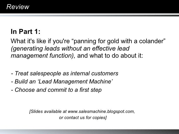 CEOFlow Introduction To Cold Calling 2.0 102007 Slide 3