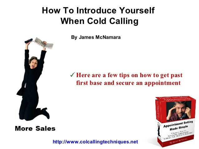 Cold calling scripts for Cold call script template