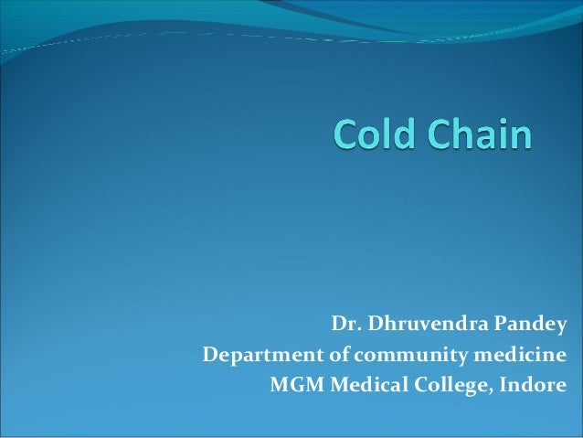 Dr. Dhruvendra PandeyDepartment of community medicineMGM Medical College, Indore