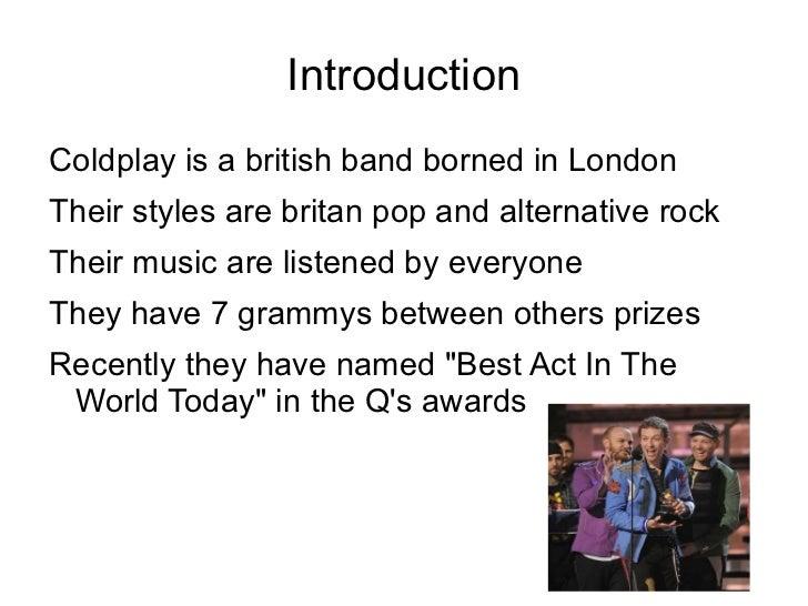Coldplay Slide 2