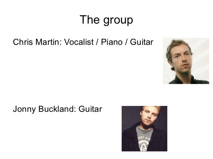 Coldplay Slide 3