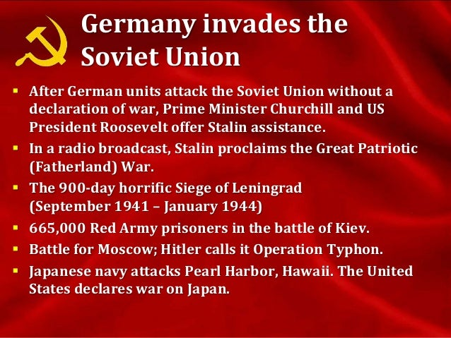 War Leader  In March 1943, Stalin took the military title Marshal of the Soviet Union.  In May 18 1944 Stalin deports th...