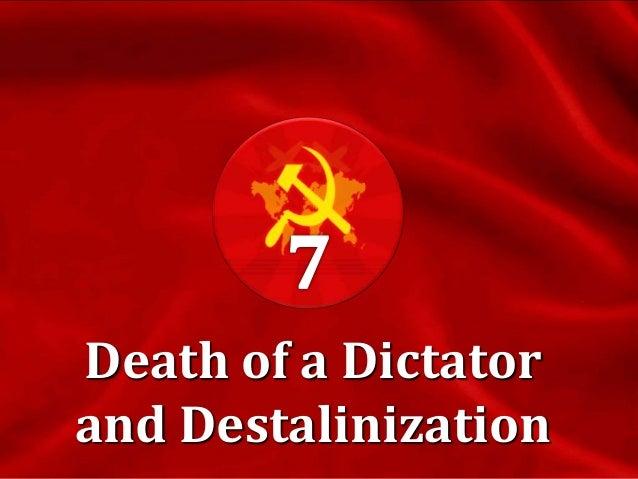 The Death of Stalin  January 1953 – announcement of Jewish Doctors' Plot against St.alin. Nine Kremlin doctors are arrest...