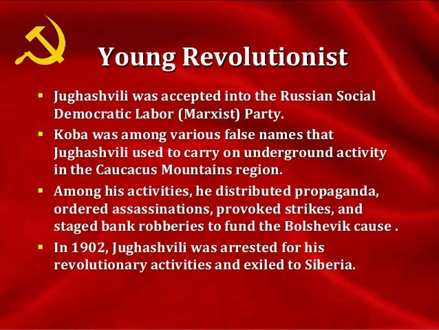  In 1903, Russian Social Democratic Labor Party was split into two major groups: the Bolsheviks and the Mensheviks .  Th...