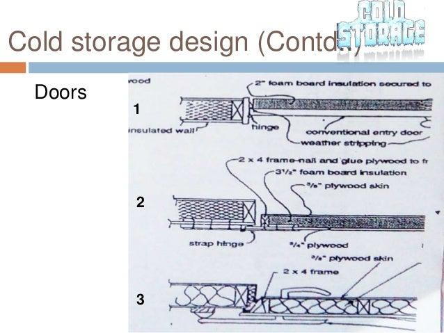 Cold storage design (Contd.  sc 1 st  SlideShare & Cold storage ppt pragati