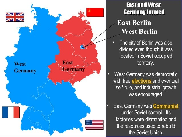 Map Of Germany During Cold War.Cold War