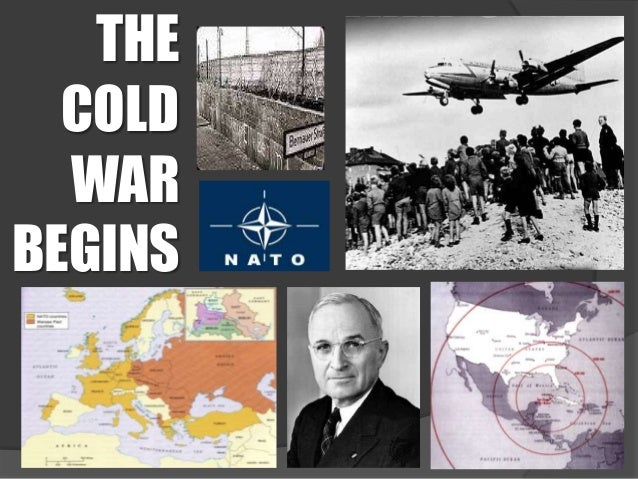 THE  COLD  WARBEGINS