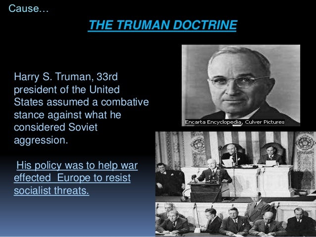 Cold war - The marshall plan was designed to ...