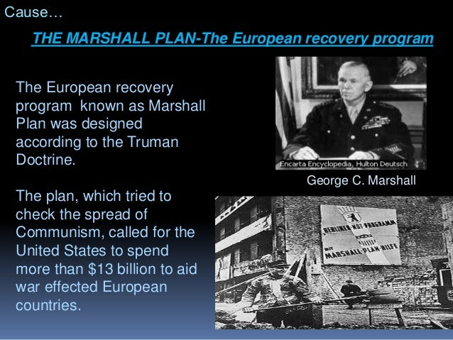 Image result for birth of the marshall plan