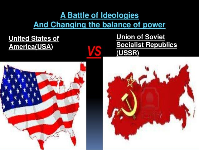 an analysis of the causes of the cold war between the soviet union and the united states of america