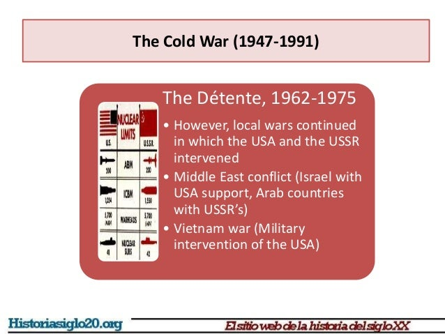 politics of cold war detente after 1962 Cold war: a compete guide to cold  the only good thing that developed after the cuban missile crisis of 1962 was that  decline of cold war and birth of detente.