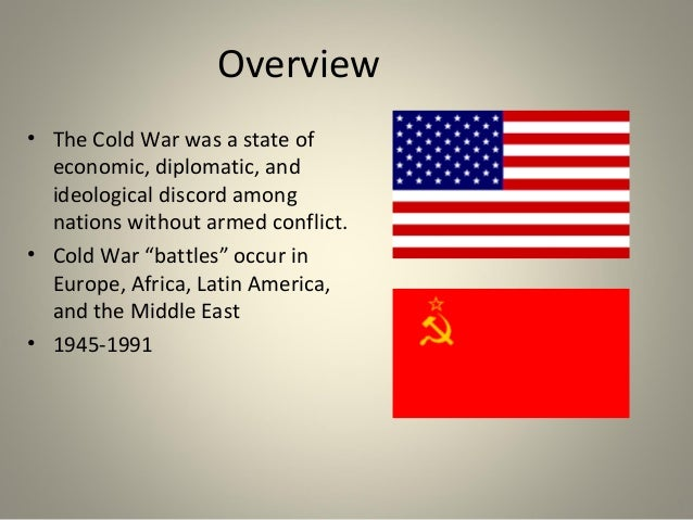 an introduction to the views of the man who ended the cold war The cold war began not too long after world war ii ended in 1945 although, the soviet union was an important member of the allied powers, there was great distrust between the soviet union and the rest of the allies.