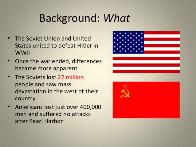 united states and soviet union relationship after ww2