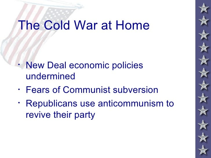 truman and the cold war Furthermore, other political contributions to the cold war entailed the truman doctrine and the marshall plan.