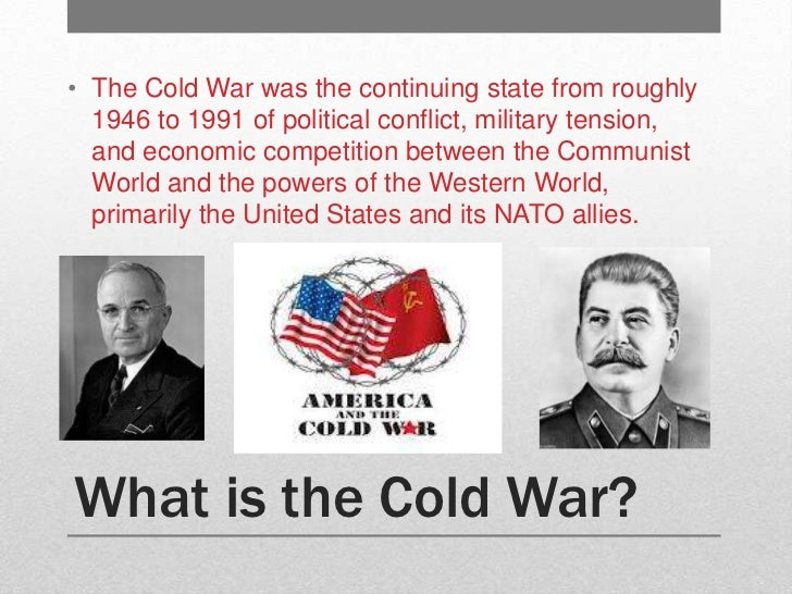 an analysis of the tension in the cold war between united states and ussr Tension between the united states and the soviet union during the cold war   between the us and ussr, or why did their differences cause the conflict   marx created an entire theory of science, historical analysis and economics.