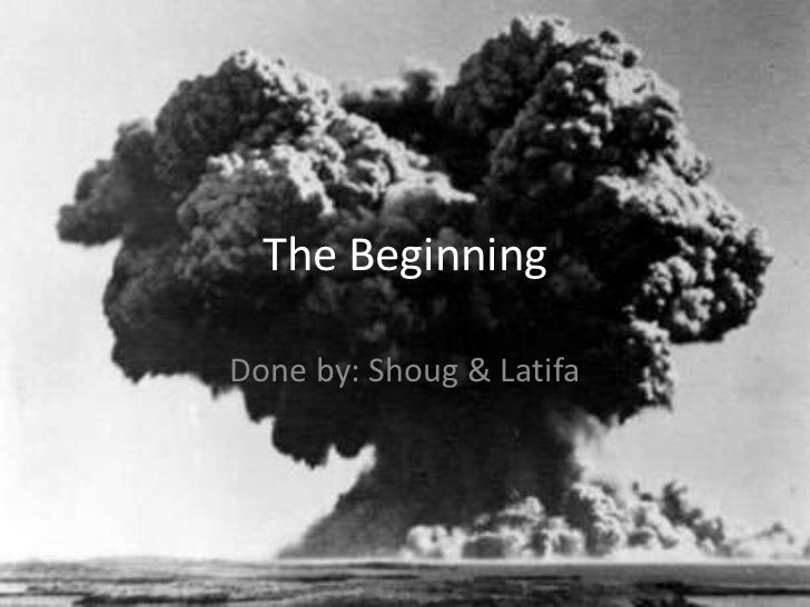 The BeginningDone by: Shoug & Latifa