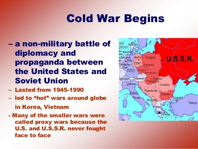 an introduction to the history of the post cold war View our comprehensive history essay collection with undergraduate and post graduate level history  the cold war and  introduction the history of.