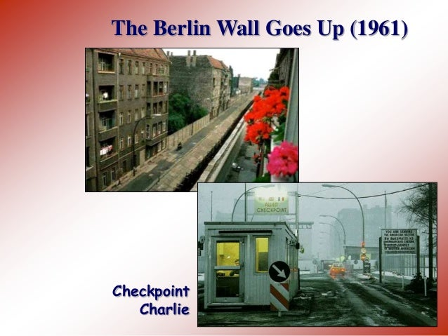 an overview of the rise and fall of the berlin wall Overview itinerary  berlin tv tower, holocaust memorial, berlin wall  from charlemagne and the holy roman empire to the rise and fall of the berlin wall,.