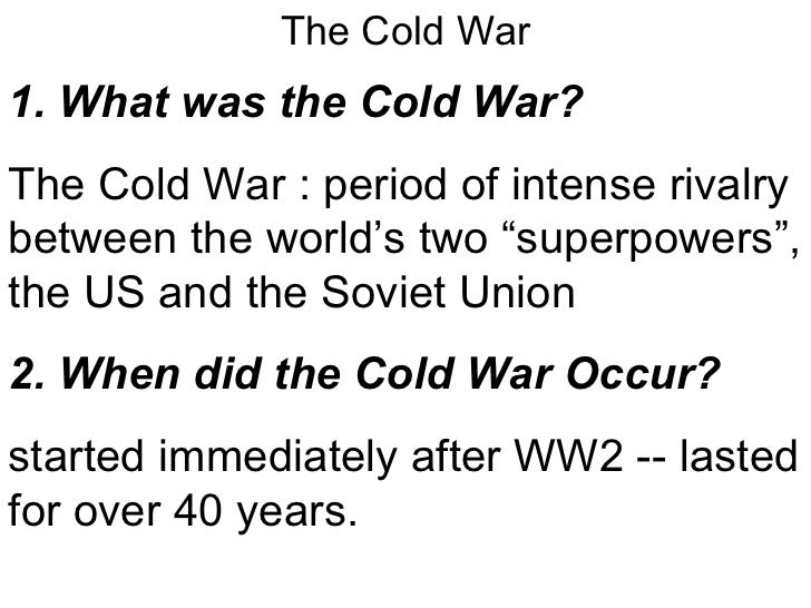 canada in the cold war essay Research essay: how much did canada contribute to the korean war effort.