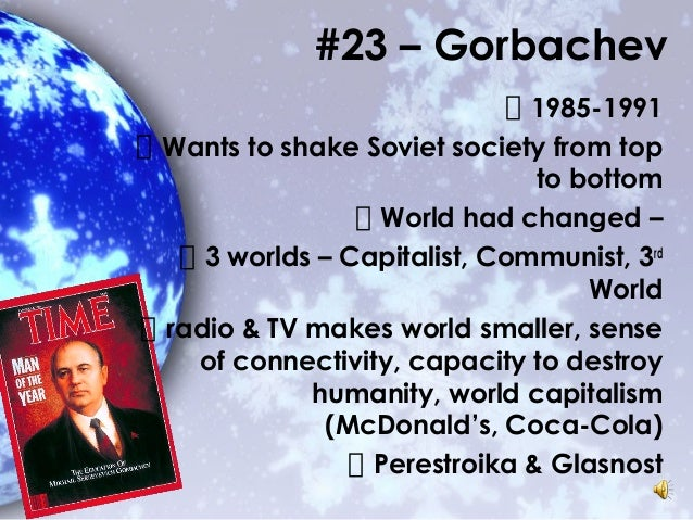 an analysis of the cold war and the empire led by gorbachev Ronald reagan and the end of the cold war do battle with tip o'neil, and broker peace with the evil empire what was the defining event in ending the cold war (consider the ascension of gorbachev to office, the opening of the berlin wall.