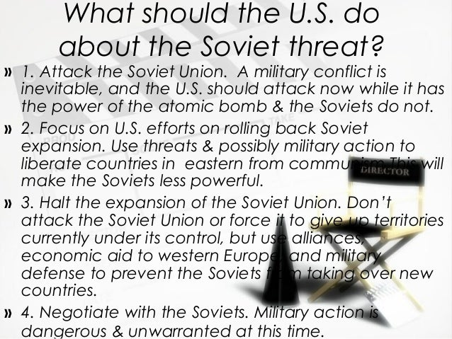 Cold war themes