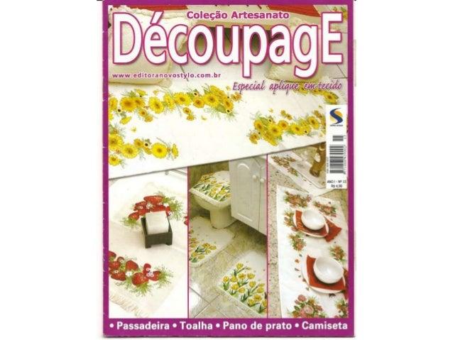 Coleçao artesanato decoupage 1 n15