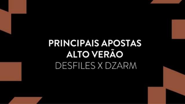I'       PRINCIPAIS AEOSTAS ALTO VERAO .  DESFILES X DZARM