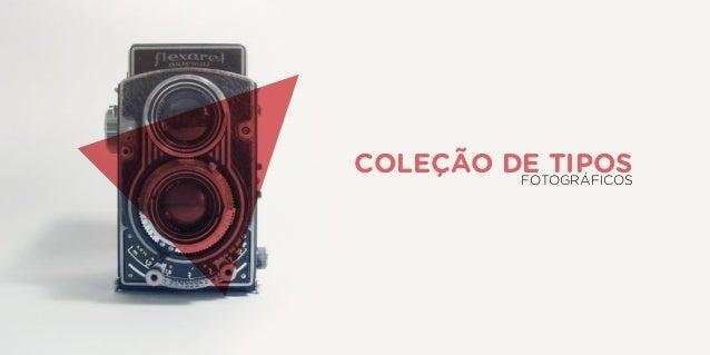 Coleção de tiposFOTOGRÁFICOS
