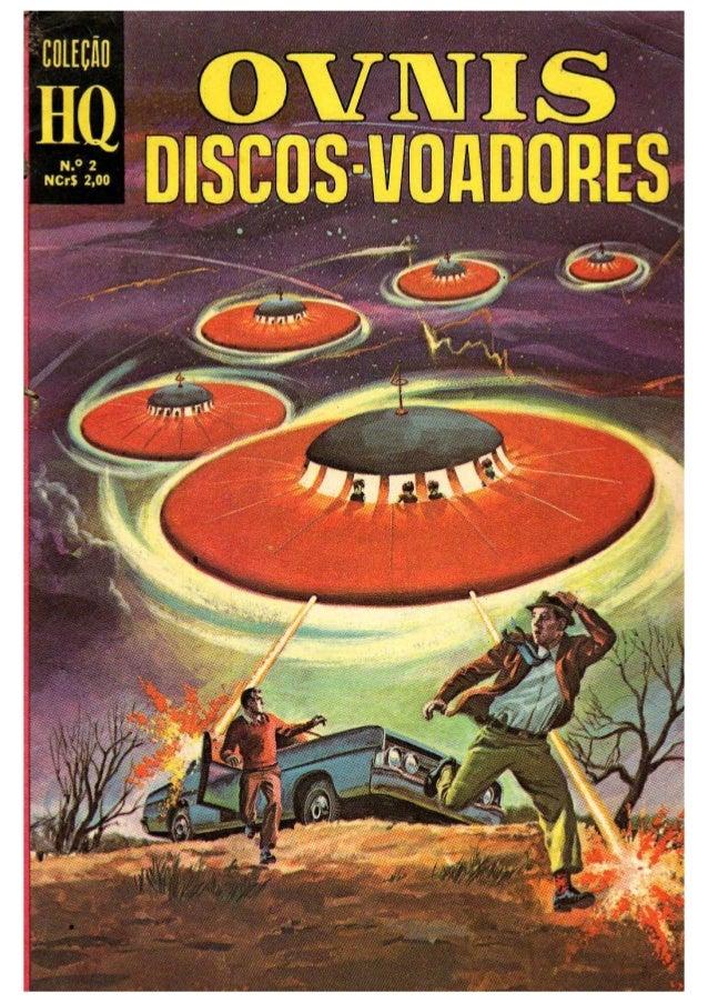 Coleção HQ 2  OVNIS    Discos Voadores
