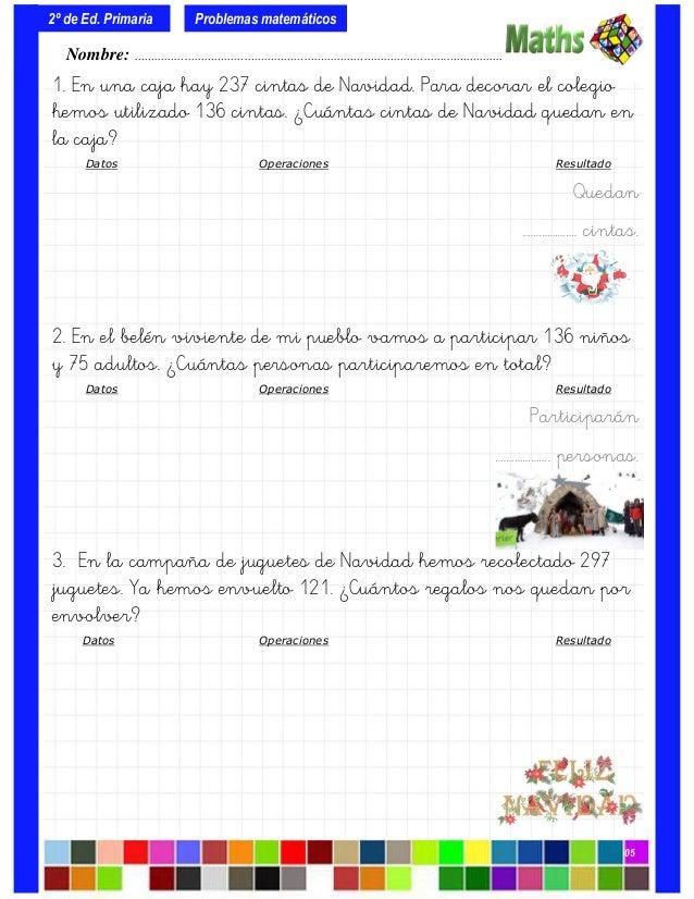 Colección de-problemas-para-2º-de-primaria