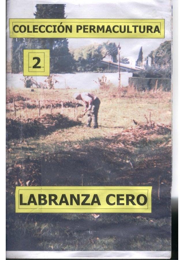 Colección permacultura 02 labranza cero