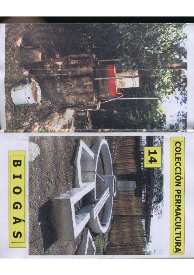 Colección permacultura 14 biogas