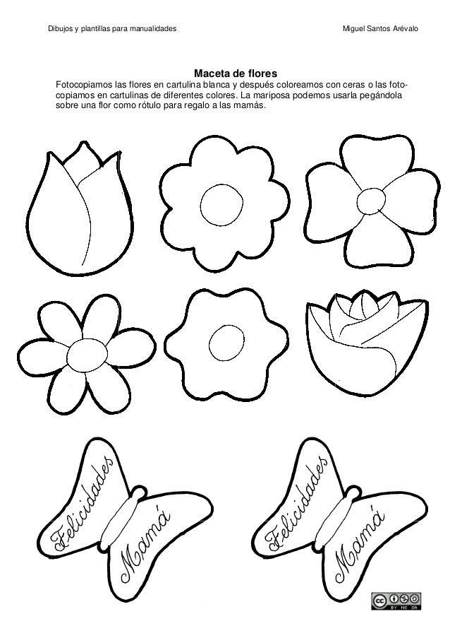 Encantador Página Para Colorear De Contorno De Flores Ideas ...