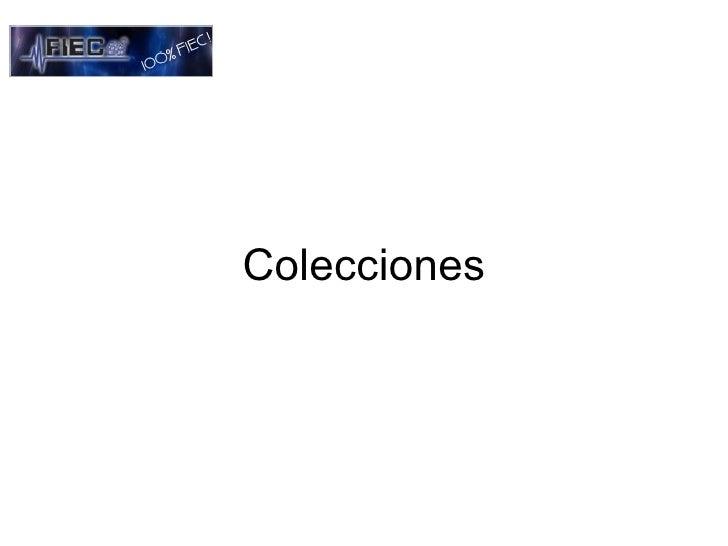 colecciones en java