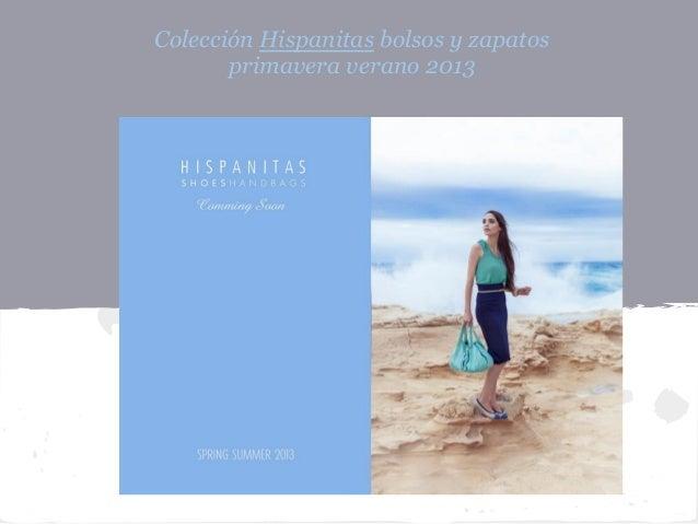 Colección Hispanitas bolsos y zapatos       primavera verano 2013