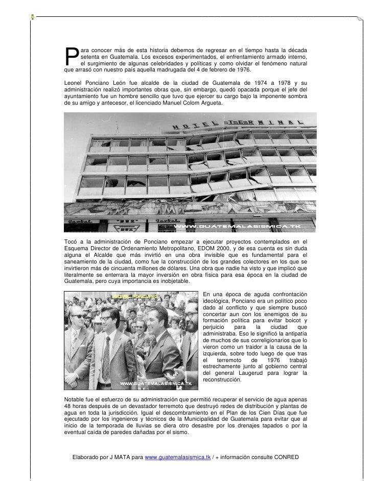 P       ara conocer más de esta historia debemos de regresar en el tiempo hasta la década       setenta en Guatemala. Los ...