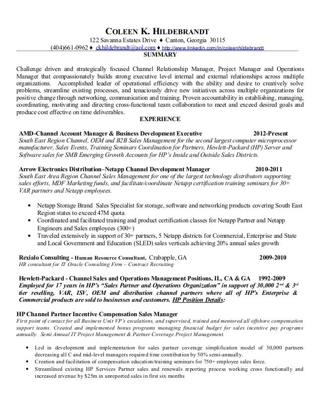 Featured Resume Samples NDEC
