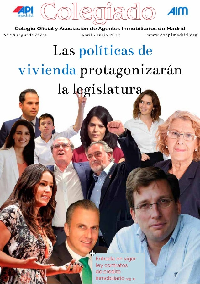 coapimadrid.org aimasociacion.es Colegio Oficial y Asociación de Agentes Inmobiliarios de Madrid Nº 51 segunda época  Ene...
