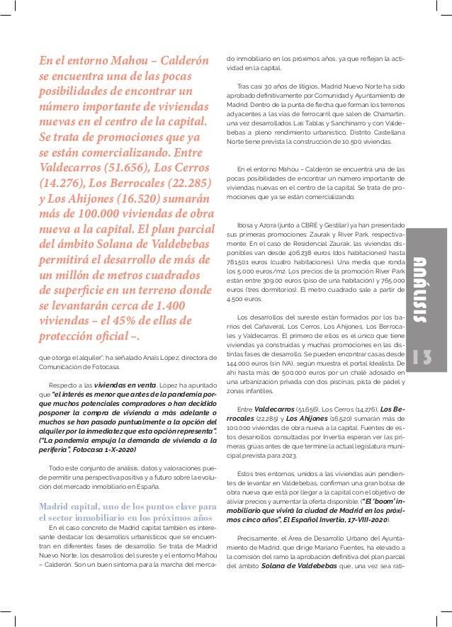 """13 ANÁLISIS que otorga el alquiler"""", ha señalado Anaïs López, directora de Comunicación de Fotocasa. Respecto a las vivien..."""