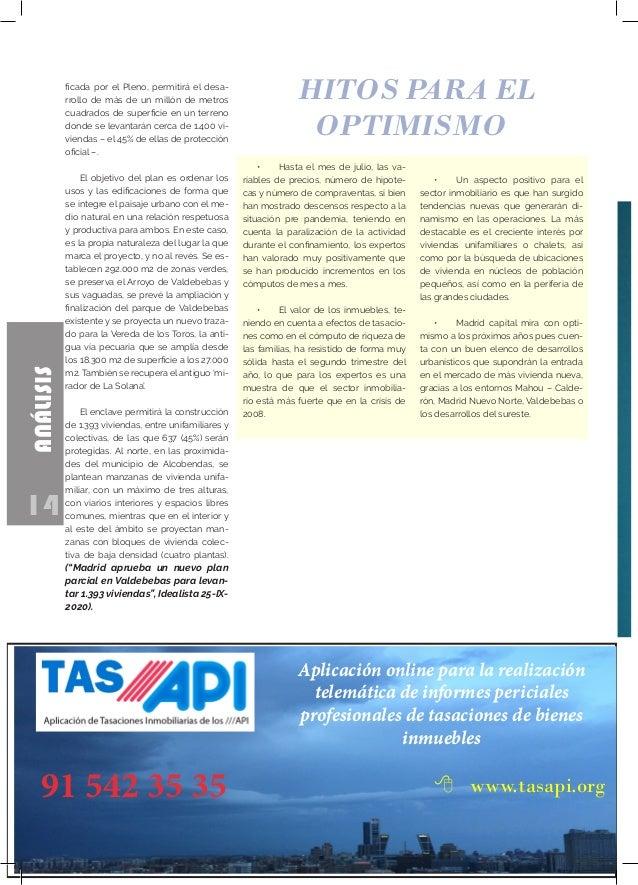 14 ANÁLISIS Aplicación online para la realización telemática de informes periciales profesionales de tasaciones de bienes ...